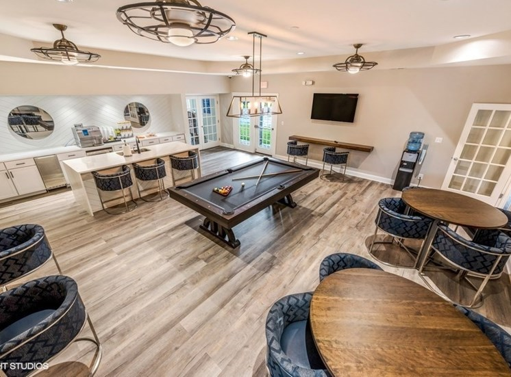 Large Interactive Clubhouse at Brittany Commons Apartments, Spotsylvania